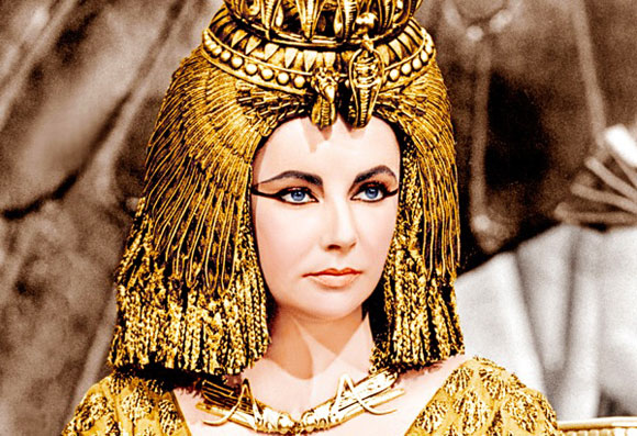 Liz as Cleopatra
