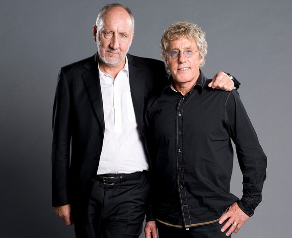 Pete Townshend and Roger Daltrey 2015