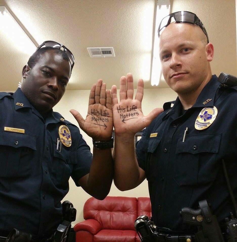 cops his life matters