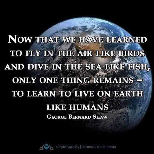 live like humans
