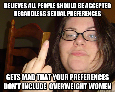feminist overweight