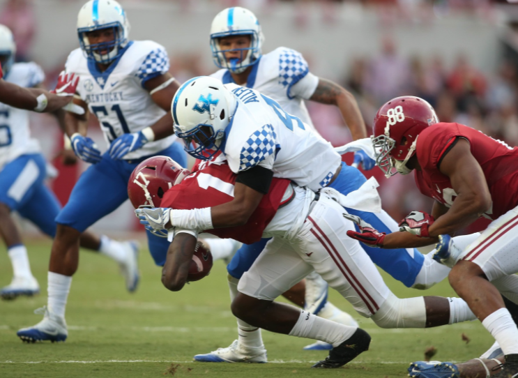 UK loses to Alabama (photo: UK athletics)