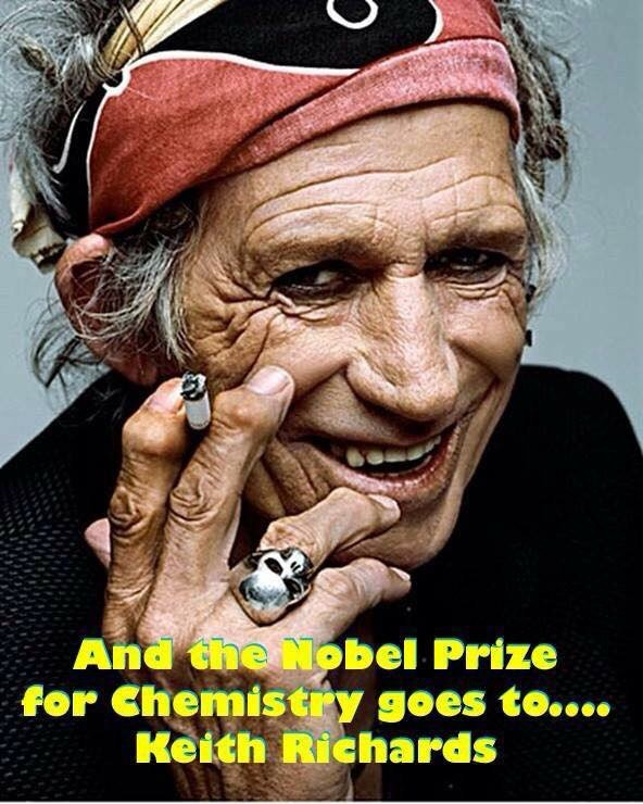 keith richards, one of the glimmer twins
