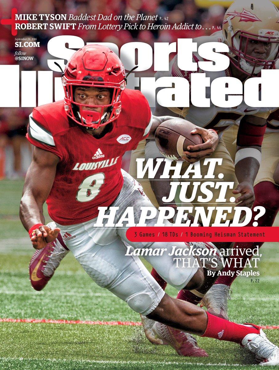 lamar jackson Sports Illustrated