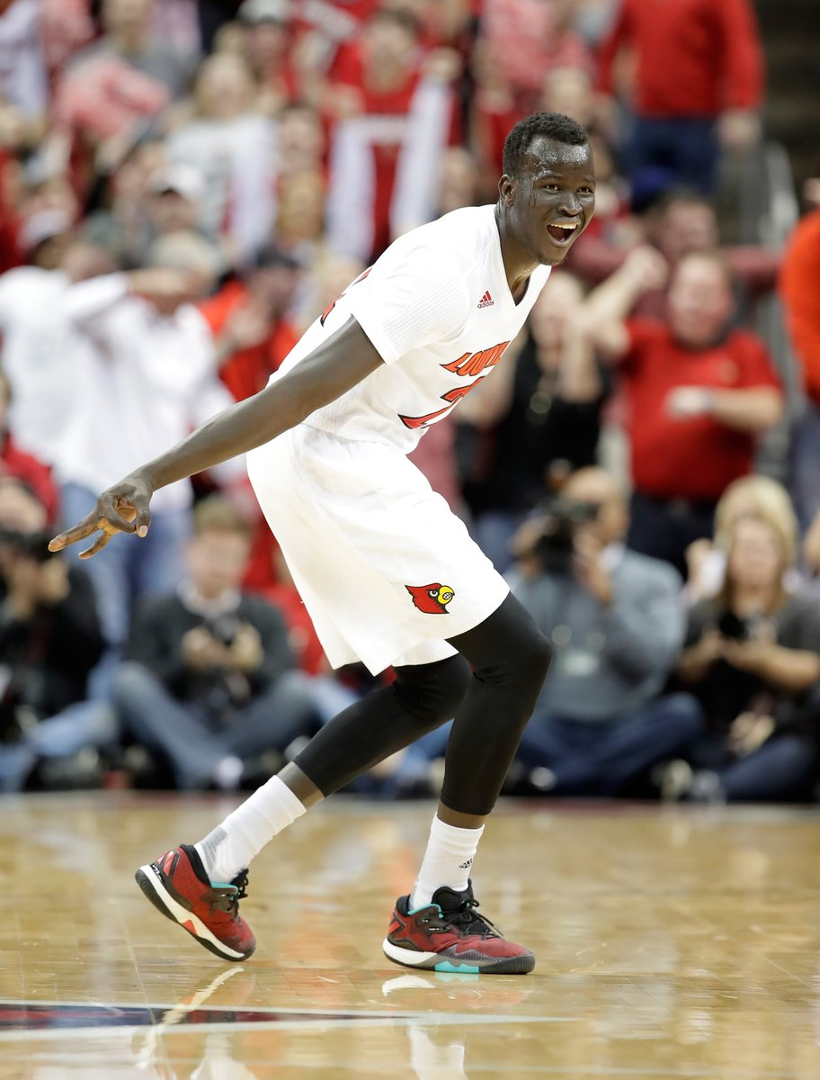 Deng Adel had a big night against Kentucky