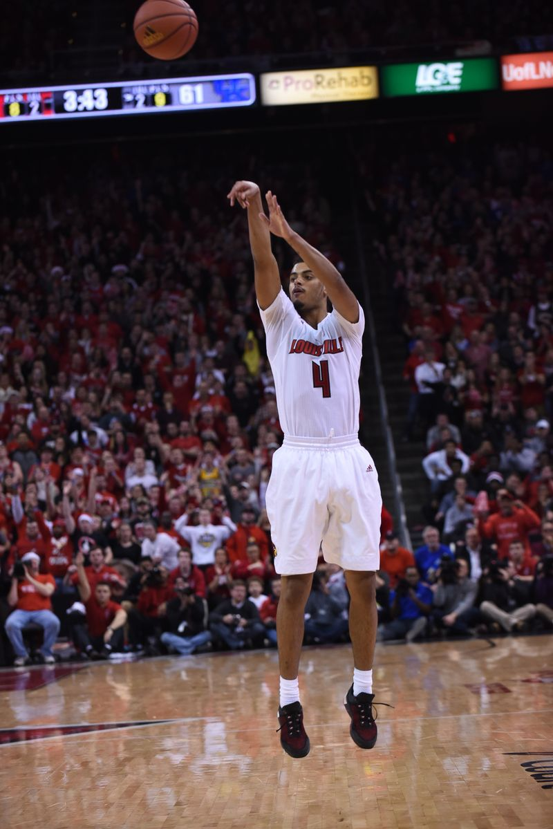Louisville Ballard product Quentin Snider was on fire against Kentucky