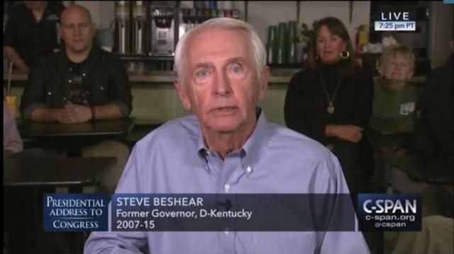 Beshear Lexington diner speech 2017