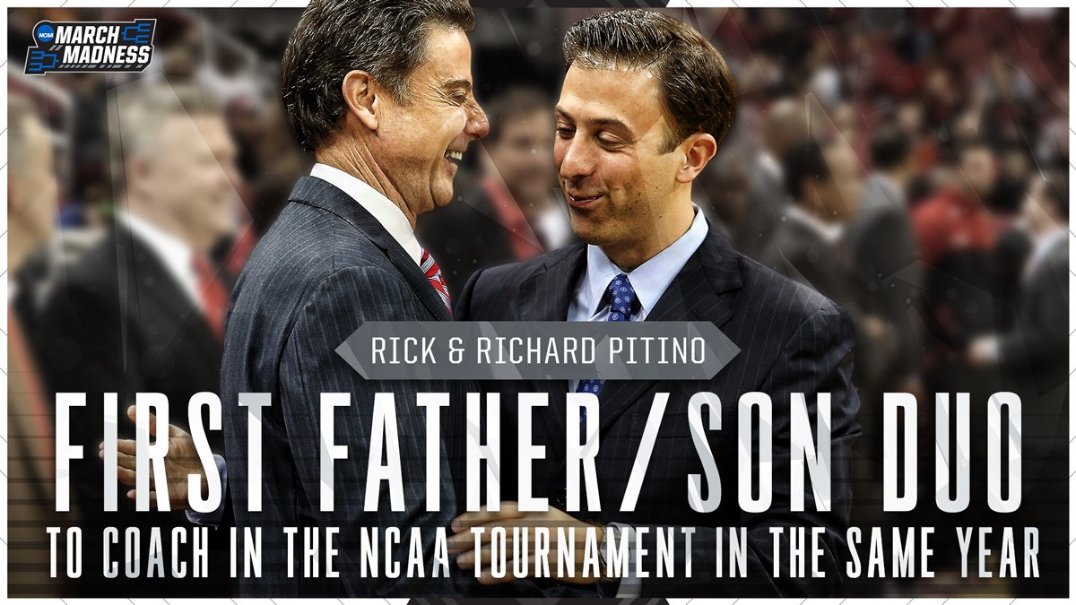 pitino father son NCAA