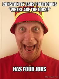 terry has four jobs