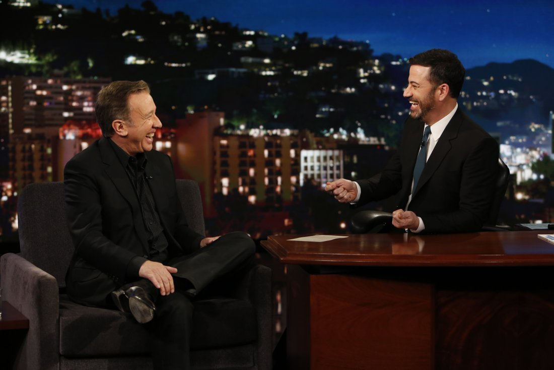 Tim Allen and Jimmy Kimmel (photo: ABC)