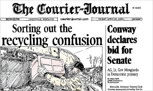 The Courier Journal continually endorsed Democrat Jack Conway through multiple campaigns, including his 2015 loss to Matt Bevin